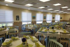 לינה כפרית אלוני הבשן - חדר אוכל